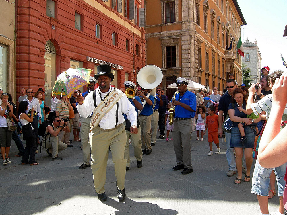 Umbria Jazz Festival in Perugia © by Angelo Romano - via Wikimedia Commons